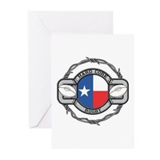 Texas Rugby Greeting Cards (Pk of 10)