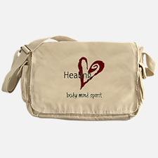 Healing Body Mind Spirit Messenger Bag