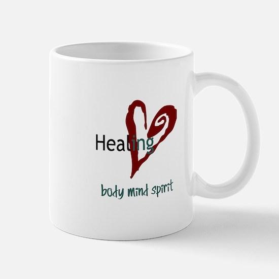 Healing Body Mind Spirit Mug