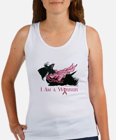 Scottish Breast Cancer Warrior Tank Top