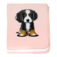 KiniArt Bernese baby blanket