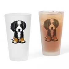 KiniArt Bernese Drinking Glass