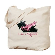 Scottish Breast Cancer Warrior Tote Bag