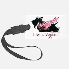 Scottish Breast Cancer Warrior Luggage Tag