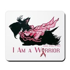 Scottish Breast Cancer Warrior Mousepad