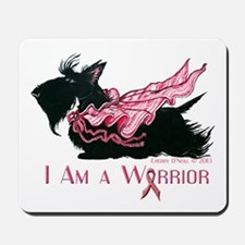 Scottish Breast Cancer Warrior Mousepad