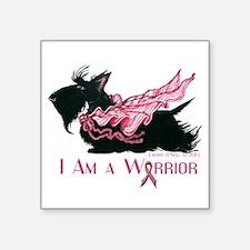 Scottish Breast Cancer Warrior Sticker