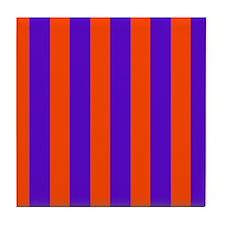 Wondrous Circus Stripes 23 Mirage Tile Coaster