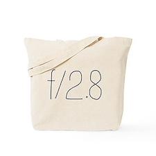 f/2.8 Tote Bag