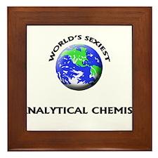 World's Sexiest Analytical Chemist Framed Tile