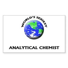 World's Sexiest Analytical Chemist Decal