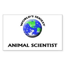 World's Sexiest Animal Scientist Decal