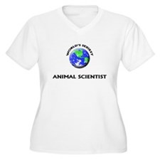 World's Sexiest Animal Scientist Plus Size T-Shirt