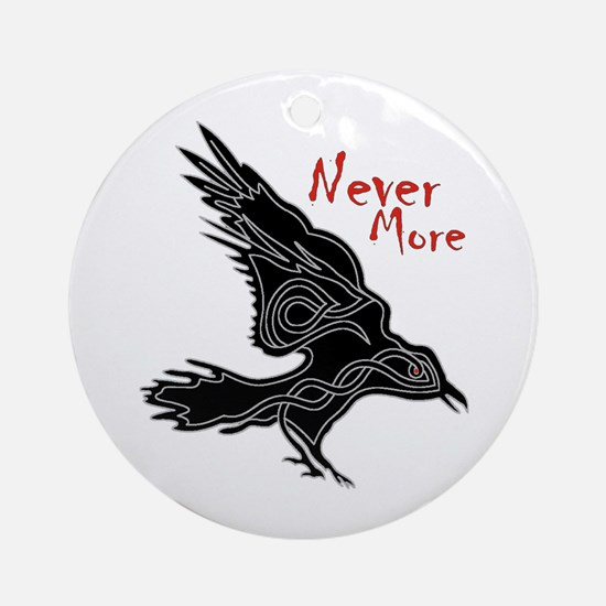 Raven Ornament (Round)
