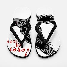 Raven Flip Flops