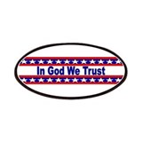 In god we trust Patches