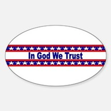 In God stripes Decal