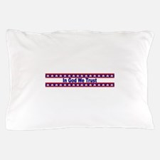 In God stripes Pillow Case