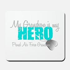 AF Grandma grandson my hero Mousepad