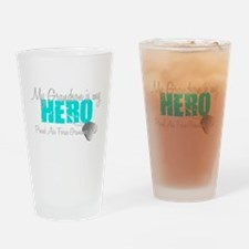 AF Grandma grandson my hero Drinking Glass