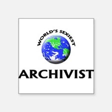 World's Sexiest Archivist Sticker
