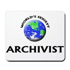 World's Sexiest Archivist Mousepad