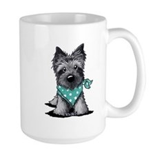 Ash Cairn Terrier In Dots Mug
