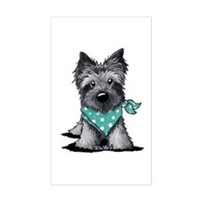 Ash Cairn Terrier In Dots Decal