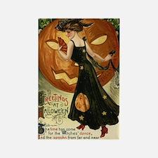 Victorian Halloween Rectangle Magnet