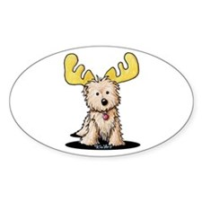 Cairn Terrier Moose Decal