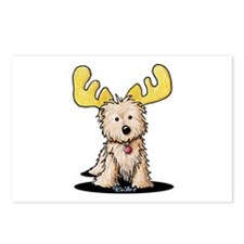 Cairn Terrier Moose Postcards (Package of 8)