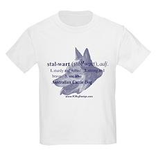 Stalwart--Australian Cattle D Kids T-Shirt