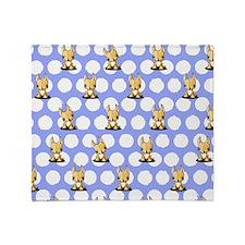 KiniArt Chihuahua Throw Blanket