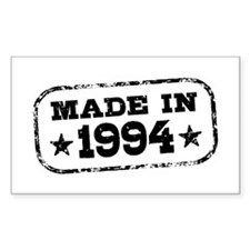 Made In 1994 Decal