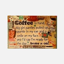 Coffee Love Rectangle Magnet