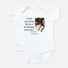 Spirit of Law Infant Creeper