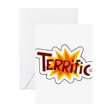 Terrific Greeting Card
