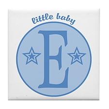 Baby E Tile Coaster