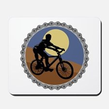 Mountain Bike Chain Design Mousepad