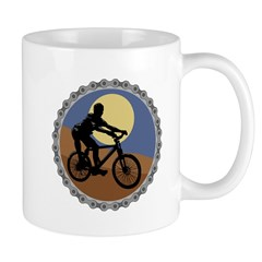 Mountain Bike Chain Design Mug