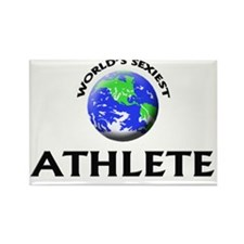 World's Sexiest Athlete Rectangle Magnet