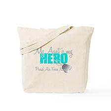 AF Niece Aunt Hero Tote Bag