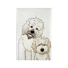 Tucker and Scout Portrait Rectangle Magnet