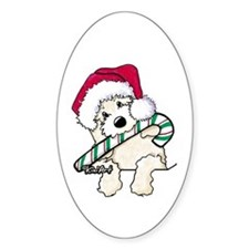 Candycane Cutie Pocket Doodle Decal