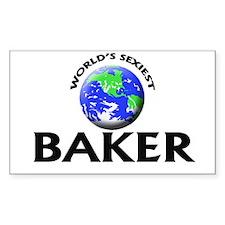 World's Sexiest Baker Decal