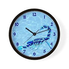 Scorpion Wall Clock