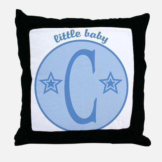 Baby C Throw Pillow