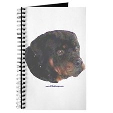 Rottie painting Journal