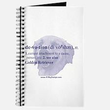 Devotion--Golden Retriever Journal