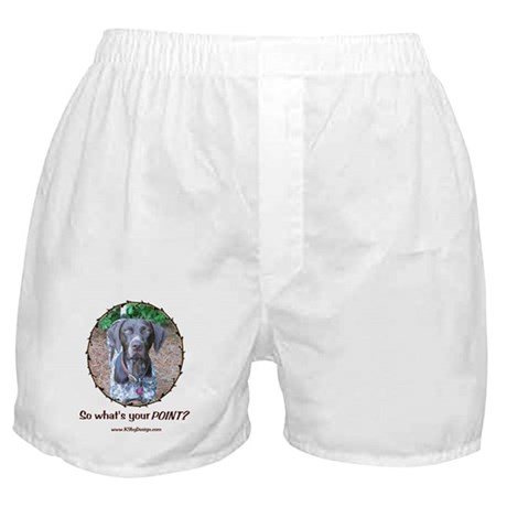 your POINT? Boxer Shorts